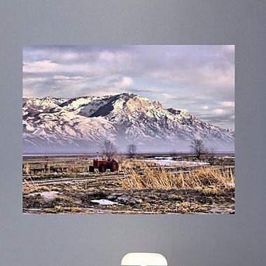 Wallhogs Batie Rocky Mountain Tractor Wall Mural; 28.5'' H x 36'' W