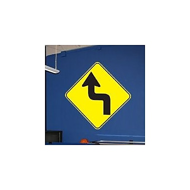Wallhogs Sharp Turn Wall Decal; 36'' H x 36'' W