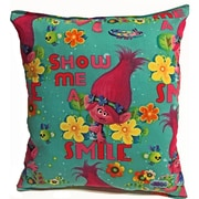 Lillowz Trolls Cotton Throw Pillow
