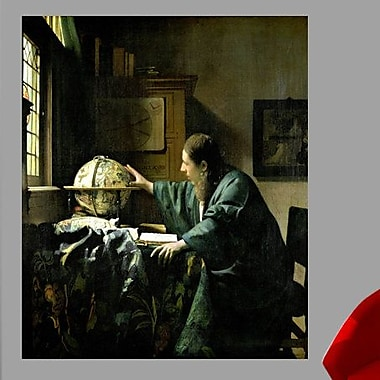 Wallhogs Vermeer The Astronomer (1668) Wall Mural; 48'' H x 40'' W