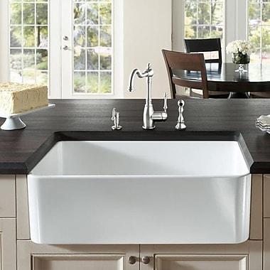 Fine Fixtures Butler 29.5'' X 18.5'' Fireclay Kitchen Sink