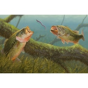 ReflectiveArt 'Dinner For Two' Print of Painting on Wrapped Canvas