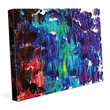 Click Wall Art 'Suzu' Painting Print on Wrapped Canvas; 20'' H x 24'' W x 1.5'' D