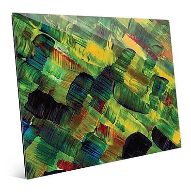 Click Wall Art 'Ono' Painting Print; 20'' H x 24'' W x 1'' D