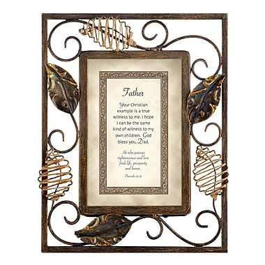 CBGT Father Proverbs Picture Frame