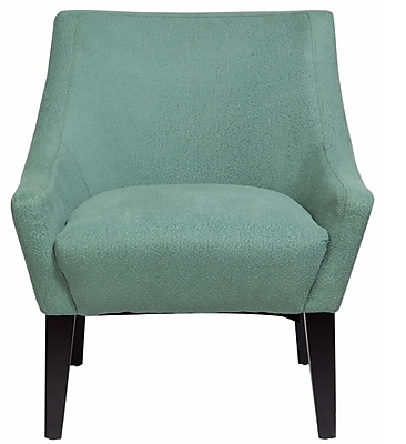 Porter International Designs Lila Arm Chair; Light Turquoise