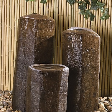 Hargrove Outdoor Products Hargrove Basalt Bubbling Column; 40'' H x 12'' W x 14'' D