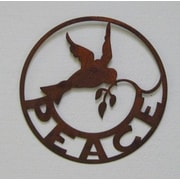 ZGardenParty Peace Sign Wall D cor