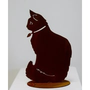 ZGardenParty Miss Kitty Statue