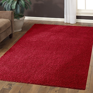 Maples Rugs Claire Autumn Red Area Rug; 5' x 7'