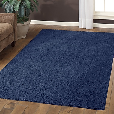 Maples Rugs Claire Navy Area Rug; 5' x 7'