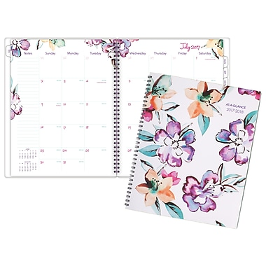 At A Glance June Collection Weekly/Monthly Planner, Large, English