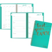 AAG – Agenda hebdomadaire/mensuel Best Year Ever de la collection Aspire, moyen, 4 7/8 po x 8 po, anglais
