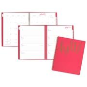 AAG – Agenda hebdomadaire/mensuel Hello de la collection Aspire, grand, 8 1/2 po x 11 po, anglais