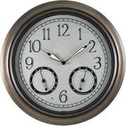FirsTime 18'' LED Trellis Wall Clock