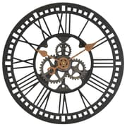 "FirsTime® 24"" Oversized Roman Gear Wall Clock"