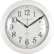 "FirsTime® 11"" White Slim Wall Clock"