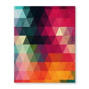 Kavka Many Colors Graphic Art on Wrapped Canvas; 36'' H x 24'' W x 2'' D