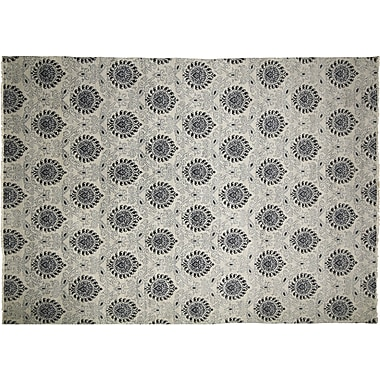Bloomsbury Market Bellview Oriental Hand-Knotted Gray Area Rug