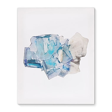 Kavka Mineral Flourite Graphic Art on Wrapped Canvas; 20'' H x 16'' W x 2'' D