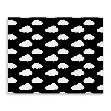 Kavka Clouds Graphic Art on Wrapped Canvas; 16'' H x 20'' W x 2'' D