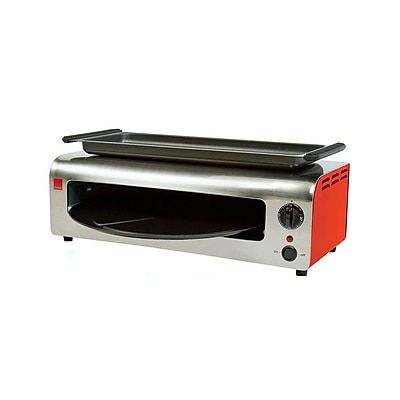Ronco Pizza and More Toaster Oven; Red/Stainless WYF078279435844