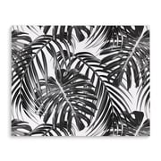 Kavka Tropical Black Graphic Art on Wrapped Canvas; 24'' H x 36'' W x 2'' D