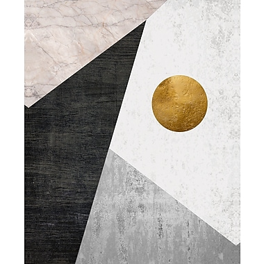 Kavka Night Moon Graphic Art on Wood; 24'' H x 20'' W x 1.5'' D