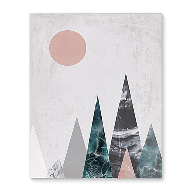 Kavka Mountains Graphic Art on Wrapped Canvas; 36'' H x 24'' W x 2'' D