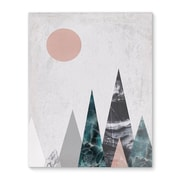 Kavka Mountains Graphic Art on Wrapped Canvas; 10'' H x 8'' W x 2'' D