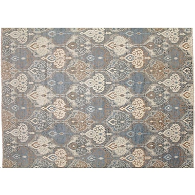 Bloomsbury Market Bellview Hand-Knotted Gray Area Rug