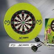 XQMaxDarts Michael Van Gerwen Tournament Bristle Dartboard