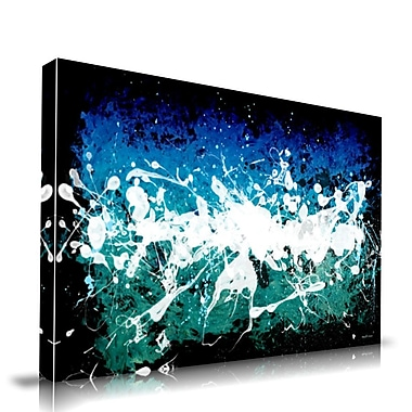 Maxwell Dickson Deep Sea Painting Print on Wrapped Canvas; 16'' H x 20'' W