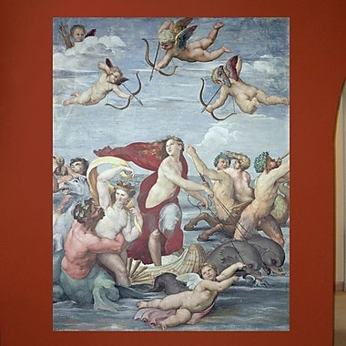 Wallhogs Sanzio The Triumph of Galatea (16th) Wall Mural; 60'' H x 45.5'' W