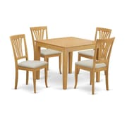 East West Oxford 5 Piece Dining Set