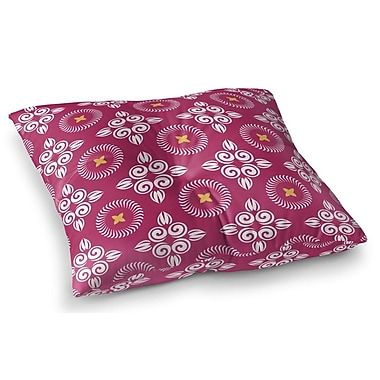 Bungalow Rose Farmington Square Floor Pillow; 23'' H x 23'' W x 9.5'' D