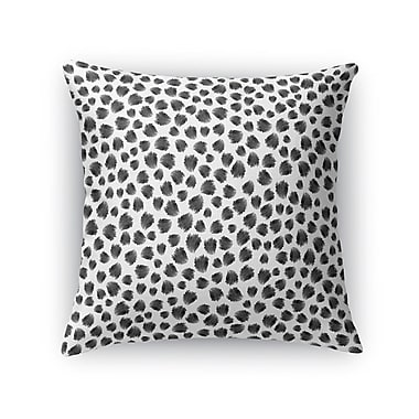 Kavka Jagged Spots Throw Pillow; 24'' H x 24'' W x 5'' D