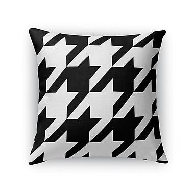 Kavka Houndstooth Throw Pillow; 24'' H x 24'' W x 5'' D