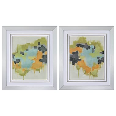 Propac Images 'Incidental Boundary' 2 Piece Framed Painting Print Set