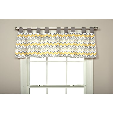 Trend Lab Buttercup Zigzag 56'' Curtain Valance