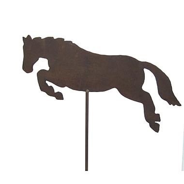 ZGardenParty Horse Garden Stake