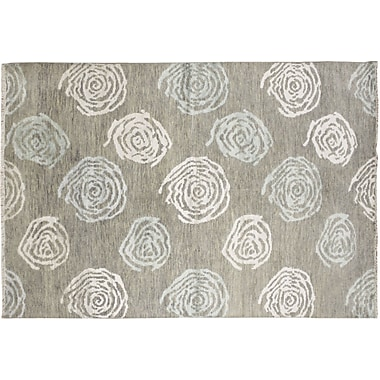 Noori Rug Oushak Fine Amir Hand-Knotted Gray Area Rug