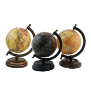 Import Collection Decor 3 Piece Globe Set (Set of 3)