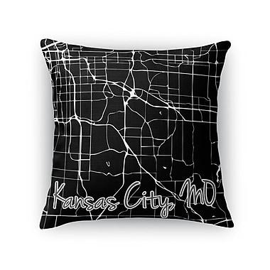 Kavka Kcmo Throw Pillow; 16'' H x 16'' W x 5'' D