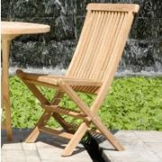 ChicTeak California Folding Side Chair (Set of 2)