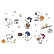 Bedtime Originals 21 Piece Snoopy Sports Wall Decal Set