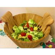 Kovot 3 Piece Salad Bowl w/ Salad Hand Set