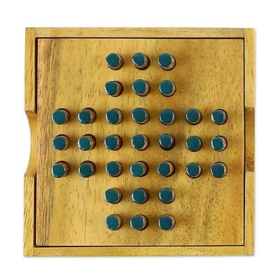 Novica Elimination Wood Game WYF078279918947