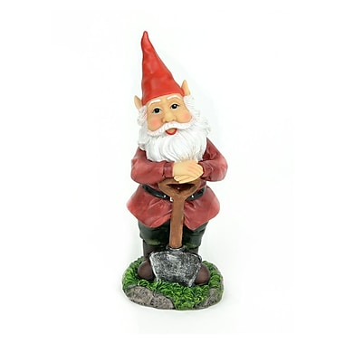 MidwestDesignImports Standing Gnome w/ Shovel Statue (Set of 2)