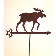 ZGardenParty Moose on Arrow Garden Stake